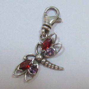 Silpada Dragonfly sterling silver charm C2600 925